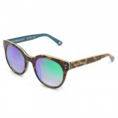 "★50%OFF★ BLACKFLYS サングラス ""FLY ASHELY"" (Havana - Blue / Smoke Green Revo Mirror) WOMEN"