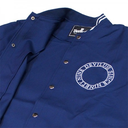"Deviluse ジャケット ""LONG STADIUM JKT"" (Navy)"
