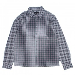 "AFENDS L/Sシャツ ""CAPITAL L/S SHIRT"" (Drizzle)"