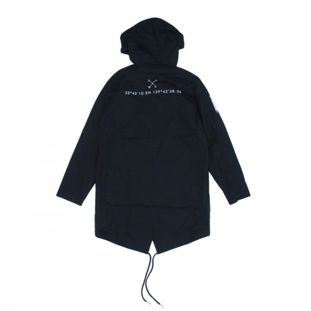 "Deviluse ジャケット ""SPRING MODS COAT"" (Black)"