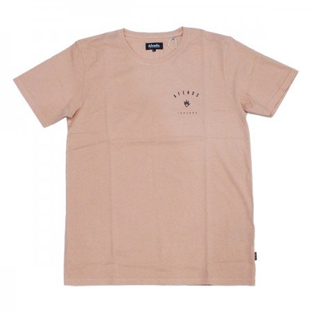 "AFENDS Tシャツ ""THREADS TEE"" (Rose)"