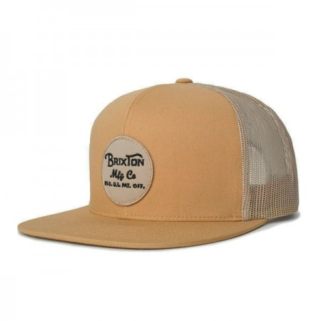 "BRIXTON メッシュキャップ ""WHEELER MESH CAP"" (Copper/Tan)"