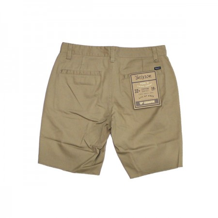 "BRIXTON ショーツ ""TOIL Ⅱ SHORT"" (Khaki)"