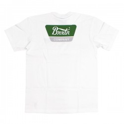 "BRIXTON Tシャツ ""LINWOOD S/S STANDARD TEE"" (White)"