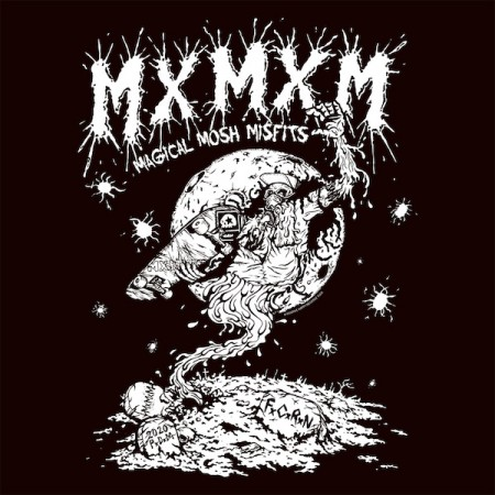 "MxMxM Tシャツ+マスクセット ""MAGICAL MOSH MASK ZOMBIE SET"" (White)"