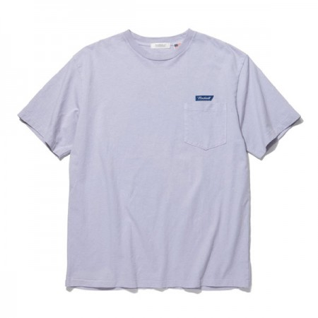 "RADIALL Tシャツ ""FLAGS CREW NECK POCKET T-SHIRT S/S"" (Purple)"
