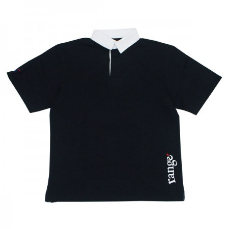 "range ラガーシャツ ""RG RUGGER SHIRTS"" (Black)"