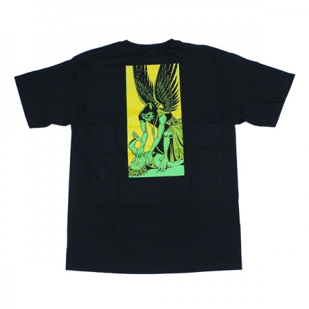"CREATURE Tシャツ ""ANGEL OF DEATH TEE"" (Black)"