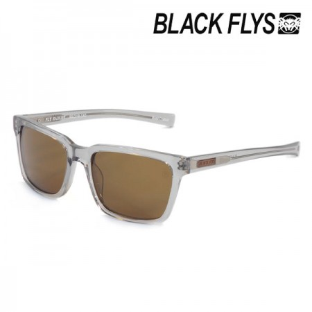 "BLACK FLYS サングラス ""FLY HADLEY"" (Clear Gray / Brown Pol)"