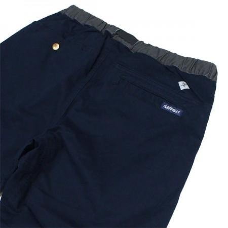 "ROARK REVIVAL x GRAMICCI パンツ ""WASHED COTTON ST TRAVEL PANTS - RELAX TAPERED"" (Navy)"
