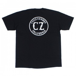 "CYCLE ZOMBIES Tシャツ ""CALIFORNIA 2 PREMIUM FIT TEE"" (Black)"