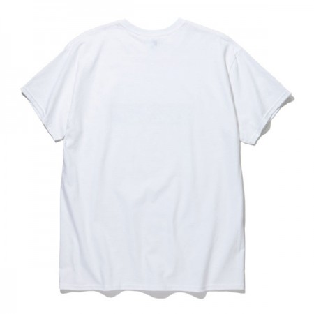 "RADIALL Tシャツ ""FLAME FLAGS CREW NECK T-SHIRT S/S"" (White)"