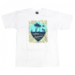 "OBEY Tシャツ ""LIFEGUARD NOT ON DUTY BASIC TEE"" (White)"