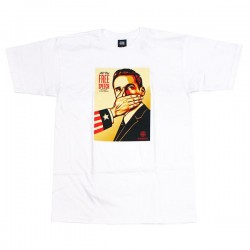 "OBEY Tシャツ ""PAY UP OR SHUT UP BASIC TEE"" (White)"