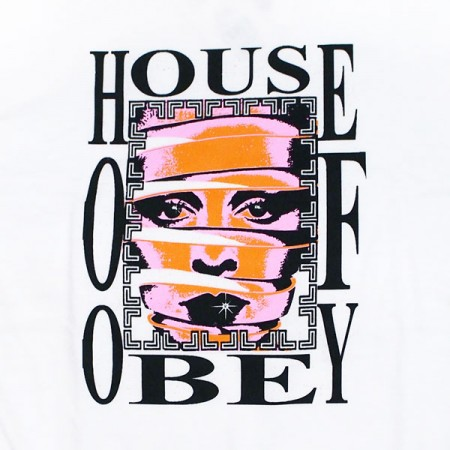 "★30%OFF★ OBEY Tシャツ ""HOUSE OF OBEY TEE"" (White)"