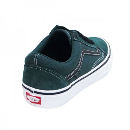 "VANS ""OLD SKOOL PRO"" (Trekking Green / Black)"