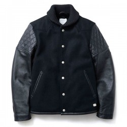 "CRIMIE スタジャン ""WESTERN AWARD JACKET"" (Black)"