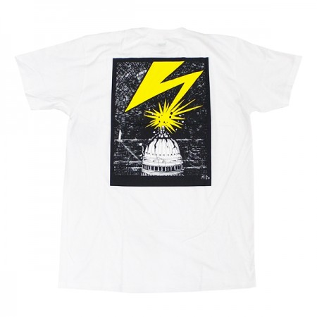 obey tシャツ bad brains capitol tee white plugs obey正規取扱