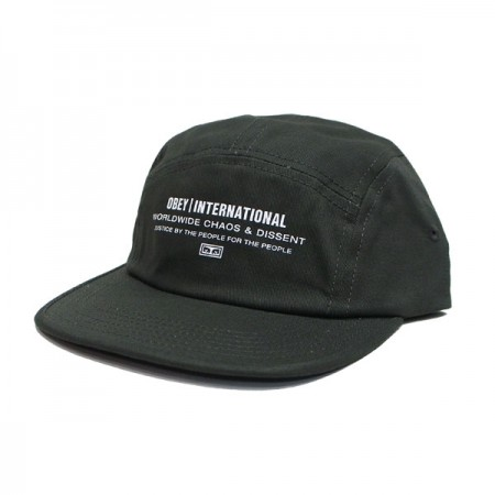 "OBEY キャップ ""INTEGRITY 5 PANEL CAP"" (Army)"