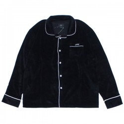 "OBEY L/Sシャツ ""TENDERLY BUTTON UP SHIRT"" (Black)"