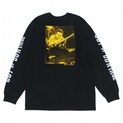 "BRIXTON x STRUMMER L/STシャツ ""OUT OF CONTROL L/S STANDARD TEE"" (Black)"