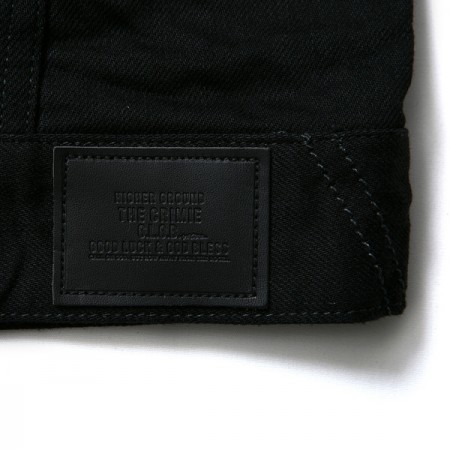 "★20%OFF★ CRIMIE ""BORN FREE BLACK STRETCH DENIM JK"""