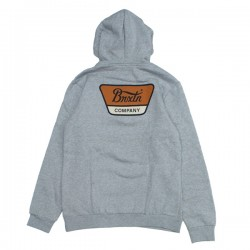 "BRIXTON パーカ ""LINWOOD HOOD"" (Heather Gray)"