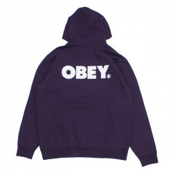"OBEY パーカ ""OBEY BOLD PULLOVER HOOD"" (Blackberry Wine)"