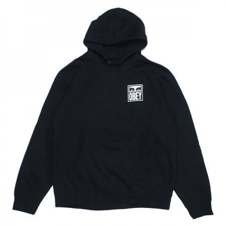 "OBEY パーカ ""OBEY EYES ICON 2 PULLOVER HOOD"" (Black)"