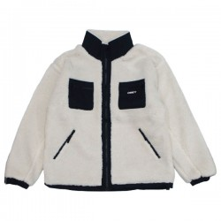 "OBEY ジャケット ""OUT THERE SHERPA JACKET"" (Natural)"