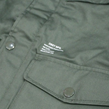 "OBEY ジャケット ""HELLER Ⅱ JACKET"" (Army)"