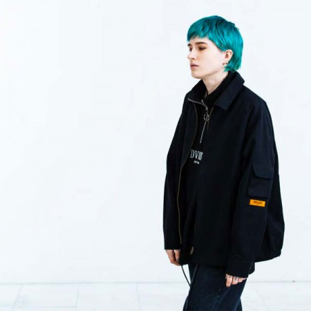 "Deviluse ジャケット ""DRIZZLER JACKET"" (Black)"